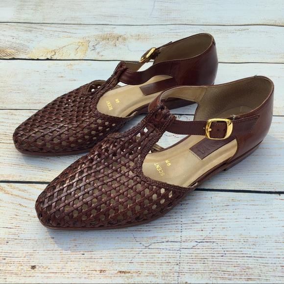 a808d551a Ipanema Shoes - IPANEMA | vintage woven t-strap flat shoes sandals